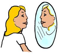 mirror gazing