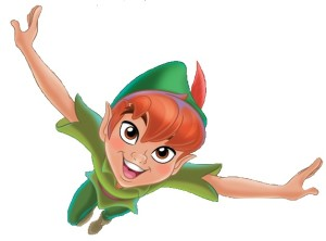 Peter-Pan-flying straight at you